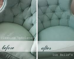 Lue Belle's - cleaning upholstery.