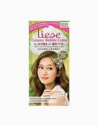 Liese Color Chart Creamy Bubble Color By Liese Products Beautymnl