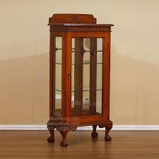 extraordinary small glass curio cabinets small curio cabinets with glass doors