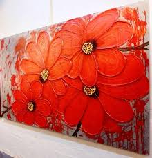 abstract flower paintings art cl abstract painting lessons supplies materials gallery