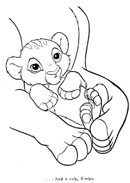 coloring pages simba coloring pages color lion king free printable for and nala colouring
