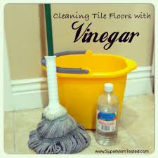 Clean Tile Floor Vinegar Cleaning Tile Floors With Vinegar Super Mom Tested
