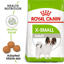 <b>ROYAL CANIN</b>: <b>X-Small Adult</b> Dry Dog Food 1.5Kg; For very small ...