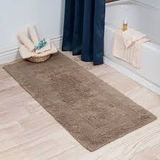 best of extra long bath rug runner with dar home co baysview extra long reversible bath