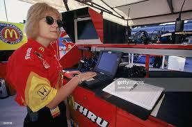 Portrait of racing engineer for Tasman Motorsport Diane Holl ...