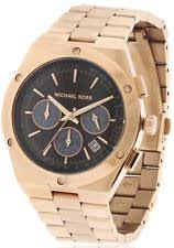 michael kors mens watch michael kors reagan rose gold tone mens watch mk6148