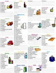 Lista De Compras Supermercado Blog Cibele Leite Lista De Compras De Supermercado