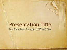 Powerpoint Background Book Free Old Book Paper Powerpoint Template Pptmag