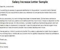 raise salary letter how write a pay raise letter increase best business template with