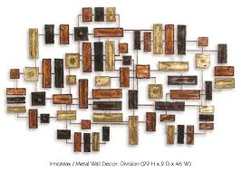 division handcrafted metal wall decor