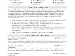 Stunning Free Executive Chef Resume Samples Photos Entry Level
