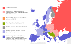 cold war simple english the encyclopedia the political situation in europe during the cold war