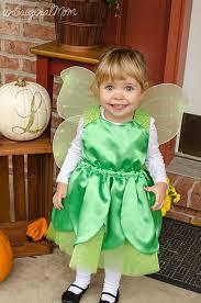 diy toddler tinkerbell costume
