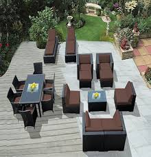 Exquisite Decoration Home Depot Wicker Patio Furniture Excellent