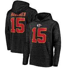 Chiefs Streak Fanatics Nfl City Pro Patrick amp; Line Hoodie Branded Black By Name Fleece Number Pullover Kansas Mahomes