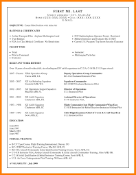 9 Pilot Resume Examples Mla Cover Page