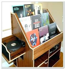 vinyl record rack record stand holder vinyl record holder wooden record storage idea for organizing record