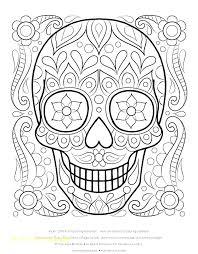 Free Printable Sugar Skull Coloring Pages Free Jokingartcom Free