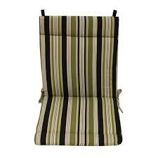 blazing needles stripe fl outdoor seat back chair rocker cushion 45 x