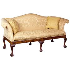 Chippendale Camelback Sofa with Claw and Ball Feet, English or Irish, circa  1770 1