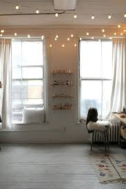 Indoor string lighting Interior Use String Lights To Brighten And Draw Attention To High Ceilings Pinterest Our Favourite Pinworthy Ideas To Use String Lights Share Todays