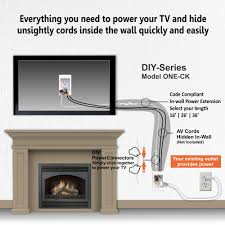 wiring for tv wiring diagram autovehicle wiring tv above fireplace wiring diagram experthiding wires on wall mounted tv above fireplace extension