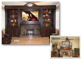 Home Theater Cabinet Entertainment Center Custom Cabinet Home Theater Built In