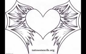Small Picture Wings Coloring Pages Hearts Designs Archives Page With Wings