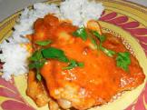 african saucy chicken