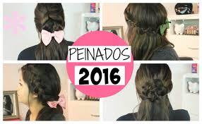 Peinados Faciles Y Bonitos 2016 Paso A Paso Youtube