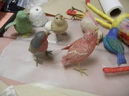 Kuvahaun tulos haulle papier mache birds