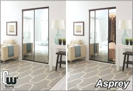 image mirrored sliding. Closet Mirror Innovative Mirrored Doors With Sliding Glass Or The Door Store Lowes Frameless Image R