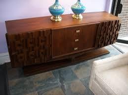 modern credenza furniture. Paul Evans Style Brutalist Mid Century Modern Credenza Furniture E