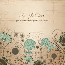 greeting card templates free floral greeting card design free vector download 19 891 free vector