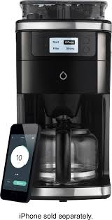 smarter coffee 2nd generation wifi connected 12 cup coffee maker multi smcof01 us best