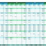 Year Budget Spreadsheet Monthly And Yearly Budget Spreadsheet Excel Template Free Excel