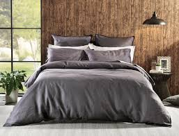 stylish inspiration ideas charcoal duvet cover milano linen quilt bed bath n table queen nz set twin canada