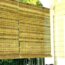 outdoor roll up bamboo blinds home depot bali roller solar shades