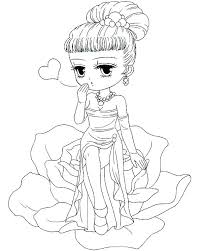 Cute Girl Coloring Pages To Print Cute Printable Coloring Pages Girl