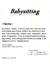 Flyer With Tear Off Tabs Template Word Luxury Babysitting Work Mac