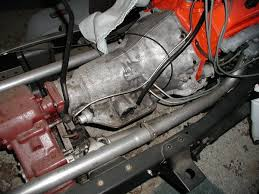 th350 transmission vacuum line to intake the 1947 present found a pic of the metal line routing