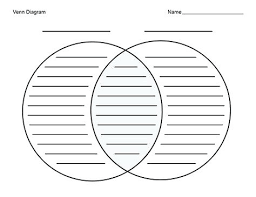 Venn Diagram Printable 2 Circles Blank Venn Diagram Cashewapp Co