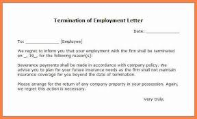 termination letter template write termination letter cover letter templates arrowmc us