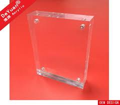 acrylic photo frames magnetic photo frame family photo frame