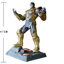 Avengers Infinity War 16 Thanos Socha Pryskyřice Akční Obrázek