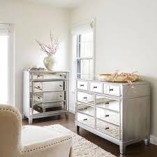 Hayworth Mirrored Silver Chest & Dresser Bedroom Set | Pier 1