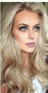gorgeous hair and makeup makeuplooks blonde hair blue eyes makeup wedding makeup blonde