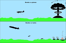 Low altitude airburst penetration