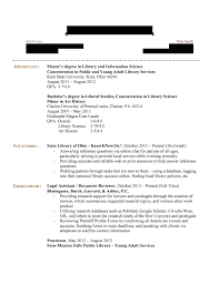 Library Resume Sample Librarian Application Letter This Is A