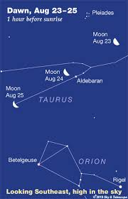This Weeks Sky At A Glance August 23 31 Sky Telescope